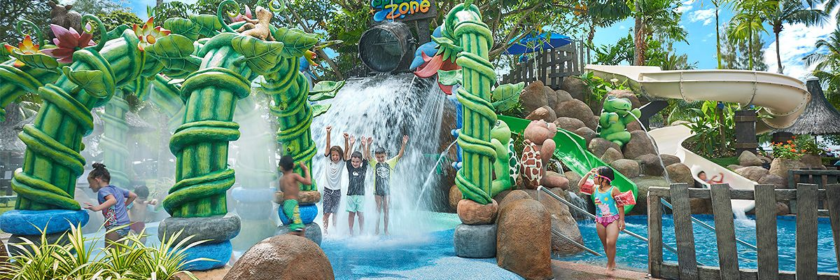 Golden Sands Shangri La Penang Kids Splash Zone