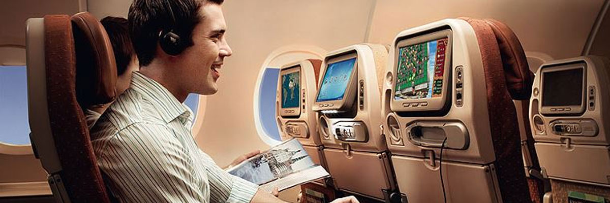 Singapore airlines entertainment console tv screen