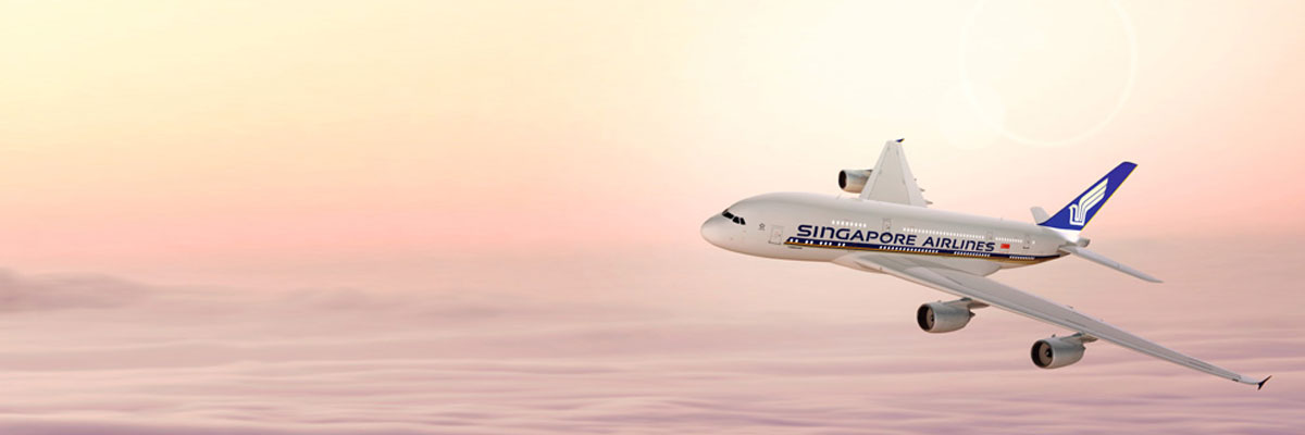 Singapore Airlines Cheap Flights to Singapore and Thailand