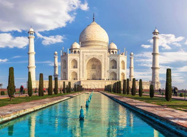 Taj Mahal India flights and Holidays