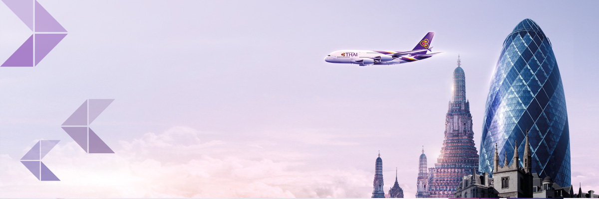 Fly Thai Airways from London to Bangkok Direct