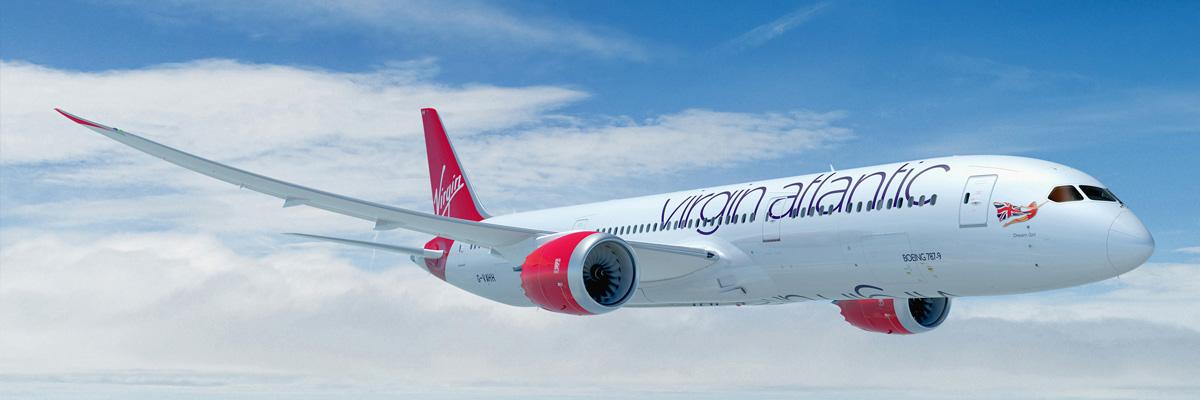 Cheap flights with Virgin Atlantic